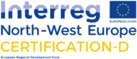 Logo Interreg North-West Europa - Certification-D